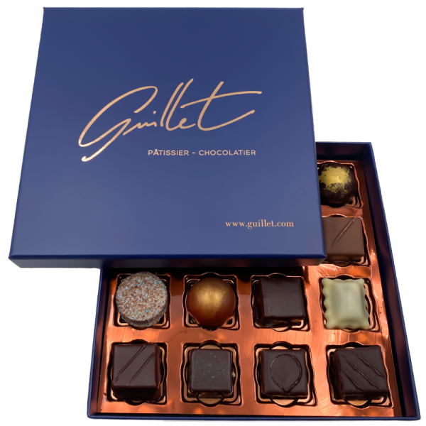 Coffret de 16 chocolats